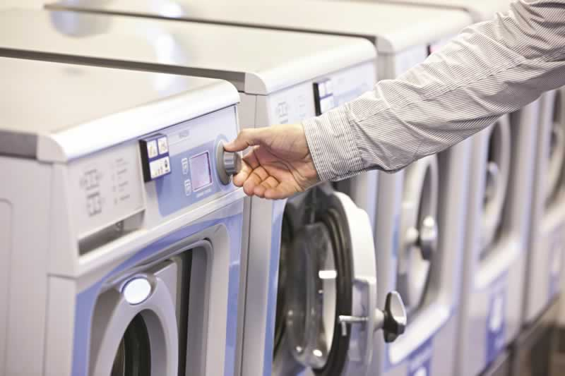 commercial laundry equipment service