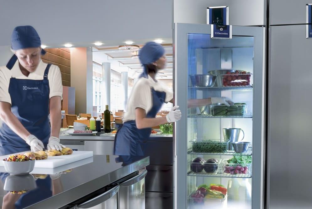 refrigeration equipment in the kitchen