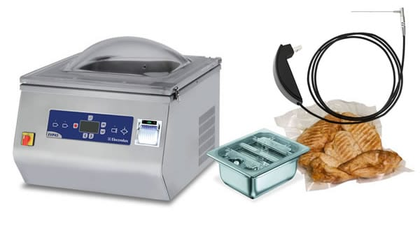 sous-vide probe and vacuum packaging accessories