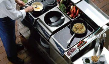 Induktionskogeplade – endnu et modul til et mobilt køkken