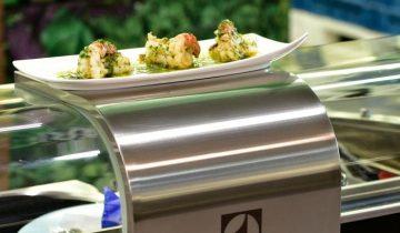 Mobilt køkken giver servering hvor som helst