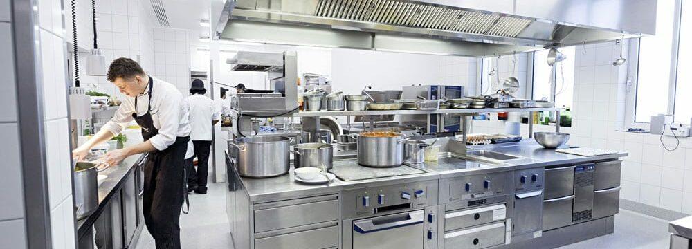 Electrolux Professional rustfrit stål køkken