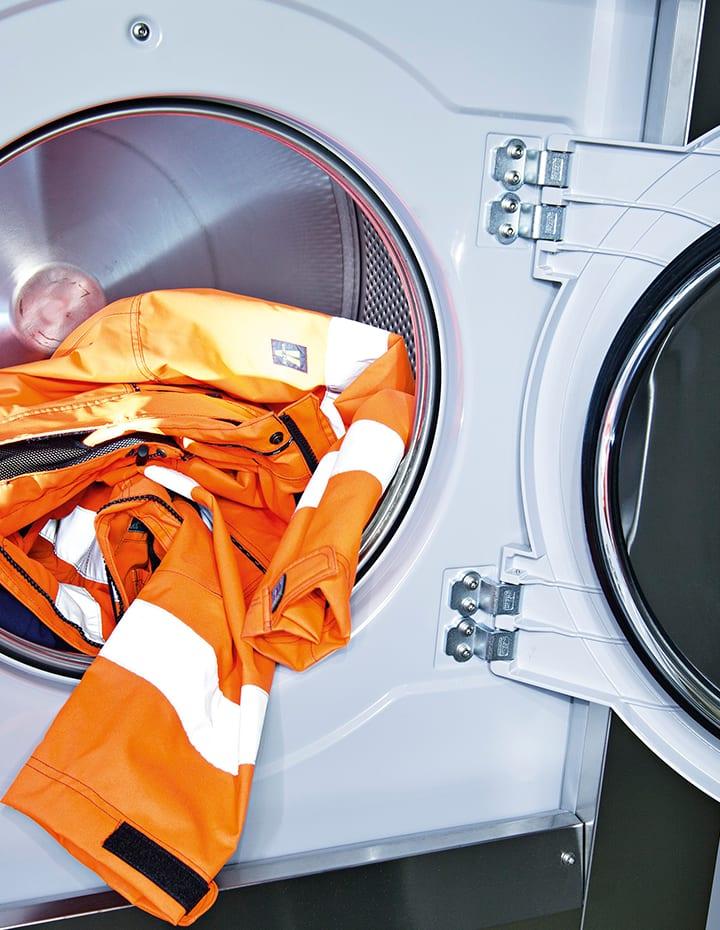 Vask af arbejdstøj