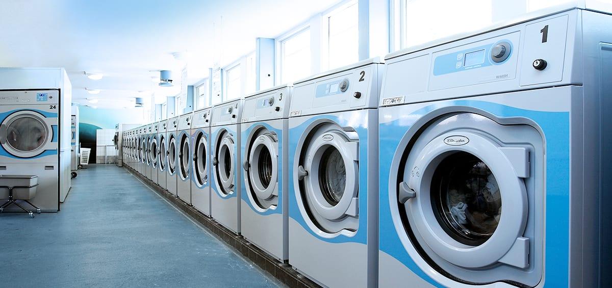 professionelle frontbetjente vaskemaskiner til boligforeninger