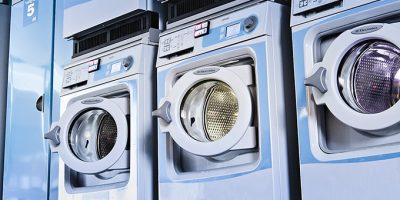 industrivaskemaskiner - fællesvaskeri