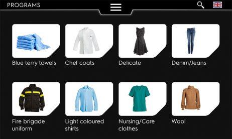 Line 6000 vaskemaskiner med intuitivt Clarus Vibe display