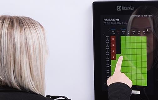 Electrolux Professional retalings- og reservationssystem sikrer stor brugervenlighed