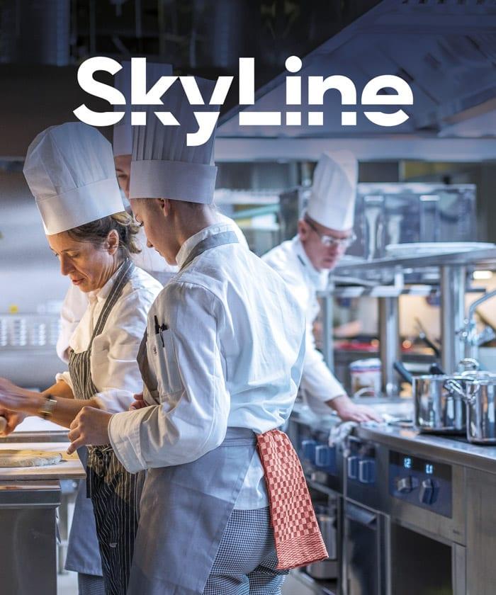 Skyline til det professionelle køkken