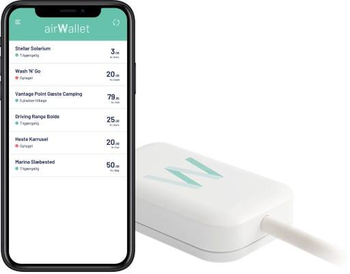 Bokking- og betalingssystem fra AirWallet