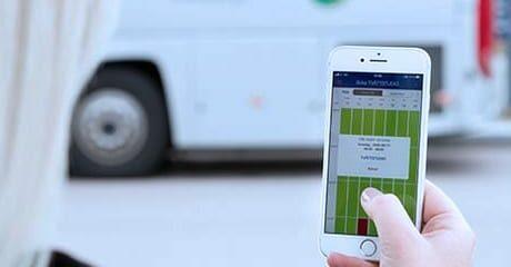 EASY reservation og booking på mobilen