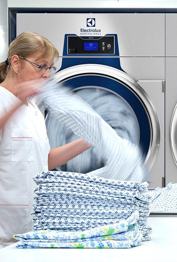 Professionelle vaskemaskiner med desinfektionsprogram
