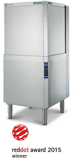 green&clean hood type dishwasher