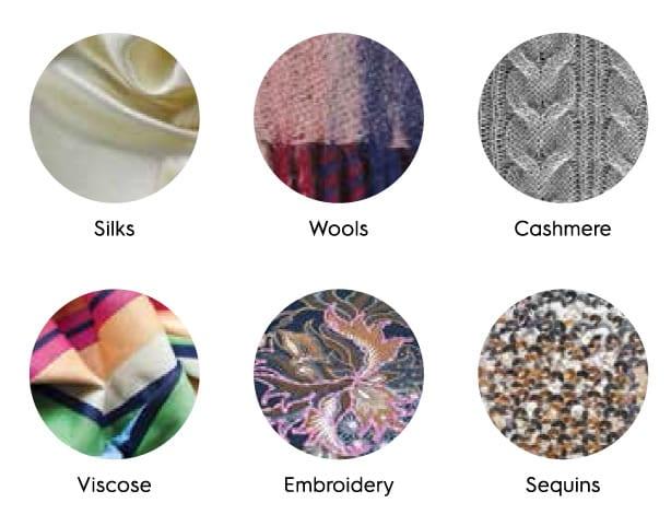 delicate textiles