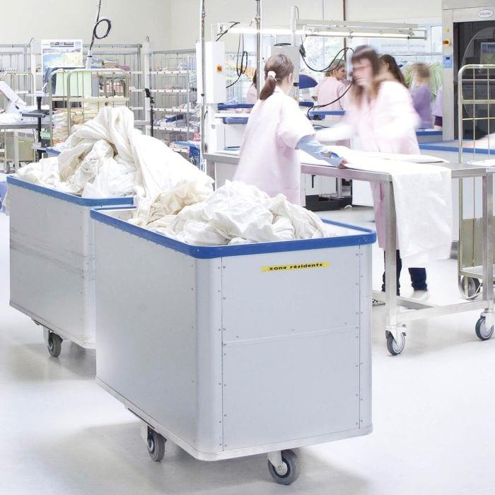 Soluciones de lavandería comercial Electrolux