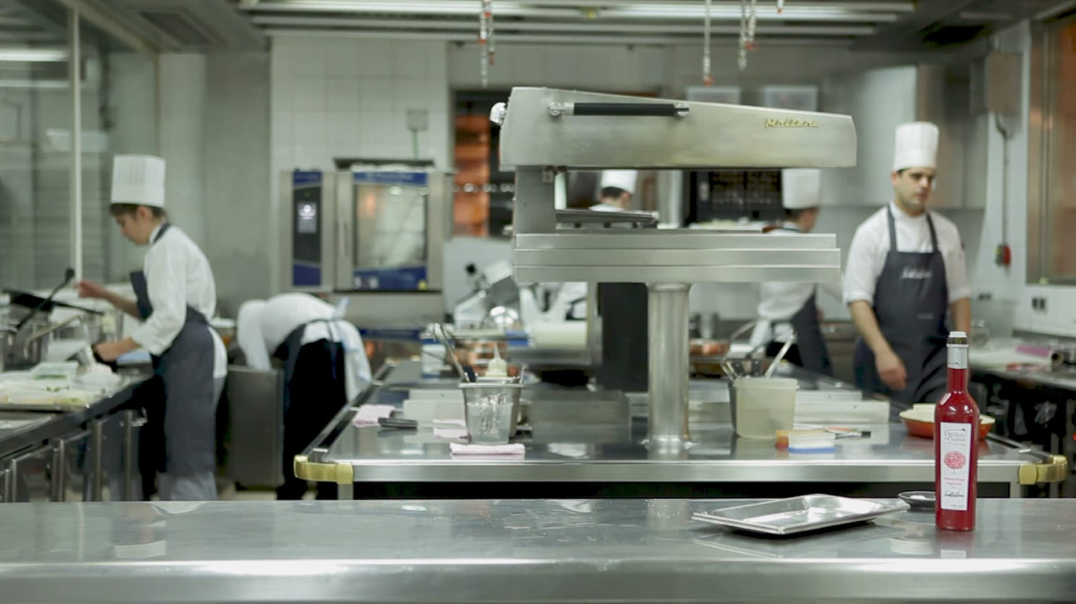 Restaurante Santceloni Madrid, cocina by Electrolux Professional