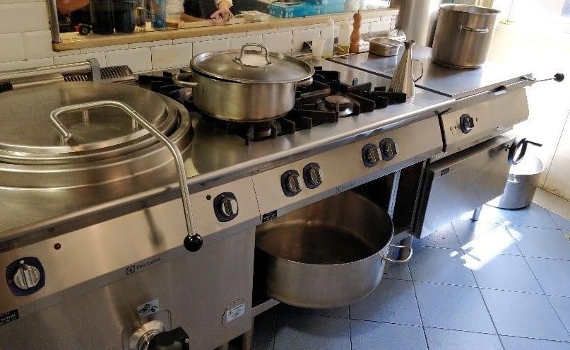 Escuela de hostelría Hofmann - cocina Electrolux XP