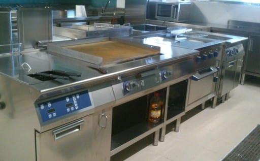 Nikki Beach Marbella - cocina Electrolux Professional