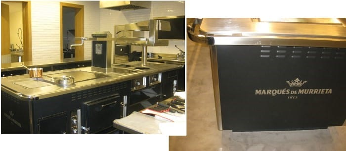 Bodegas Marqués de Murrieta - cocina Molteni de Electrolux Professional