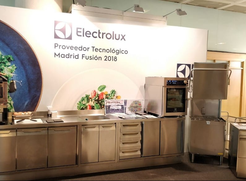 Stand Electrolux en Madrid Fusion 2018