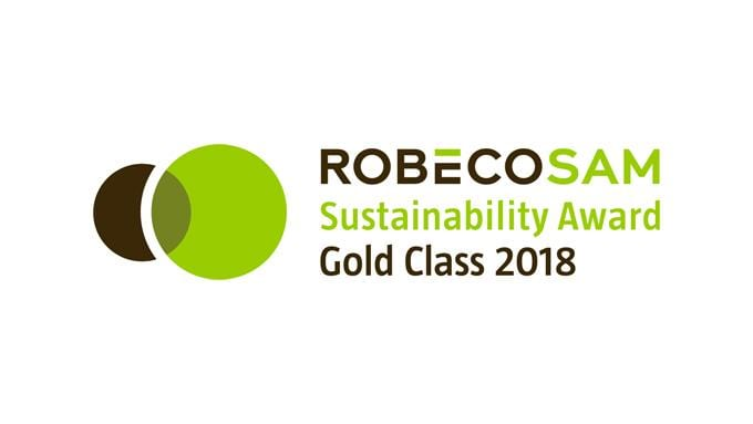 RobecoSam Gold Class 2018 for Electrolux