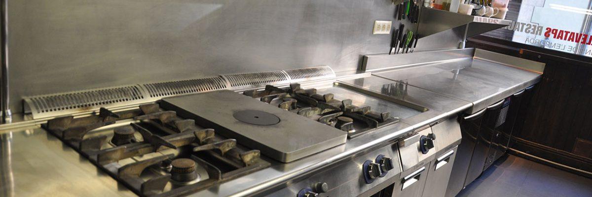 Llevataps Gerona - cocina equipada con gama XP Electrolux Professional