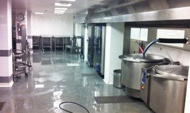 Cocina central Los Nogales - Referencias Electrolux Professional