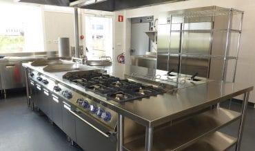Cocina comedor Merck - Referencias Electrolux Professional