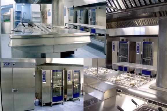 Cocina Hotel Blaucel Gerona - Referencias Electrolux Professional