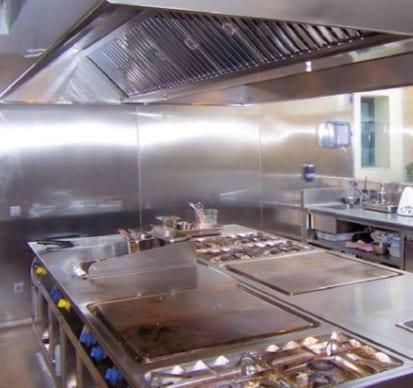 Cocina hotel Moli del Mig Gerona - referencias Electrolux Professional