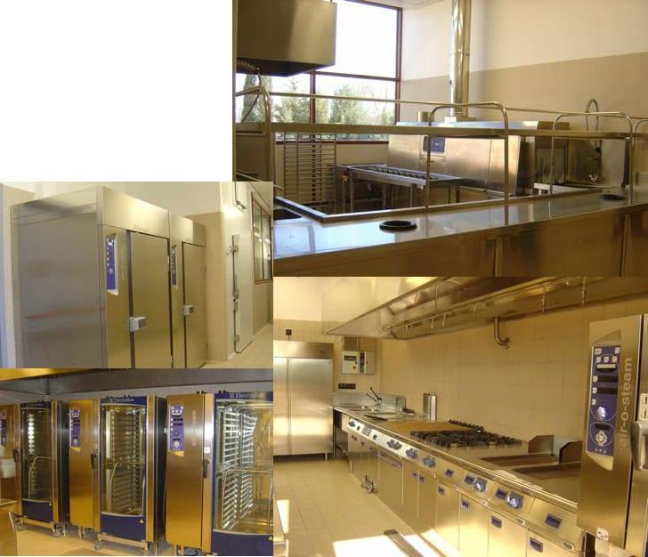 Cocinas Hilton Madrid Airport - Referencias Electrolux Professional
