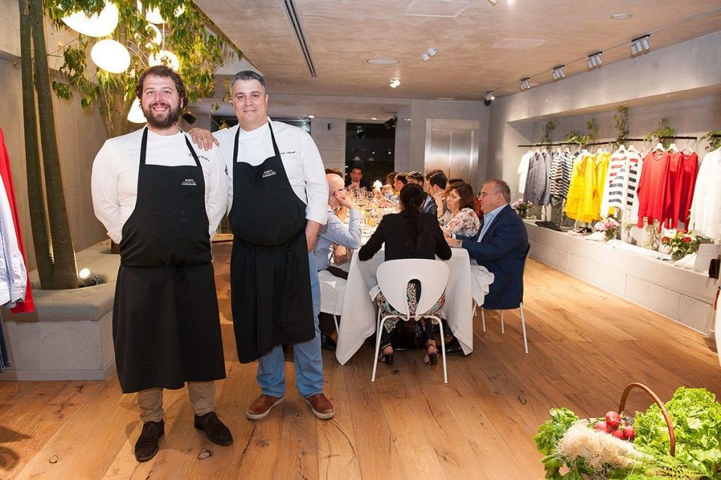 Roberto Cabrera y Ricardo Alvarez en Soul Food Night