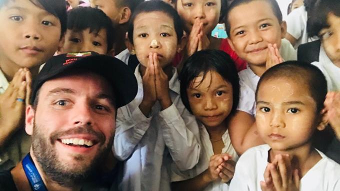 Chef Daniel en Myanmar Worldchefs Without Borders