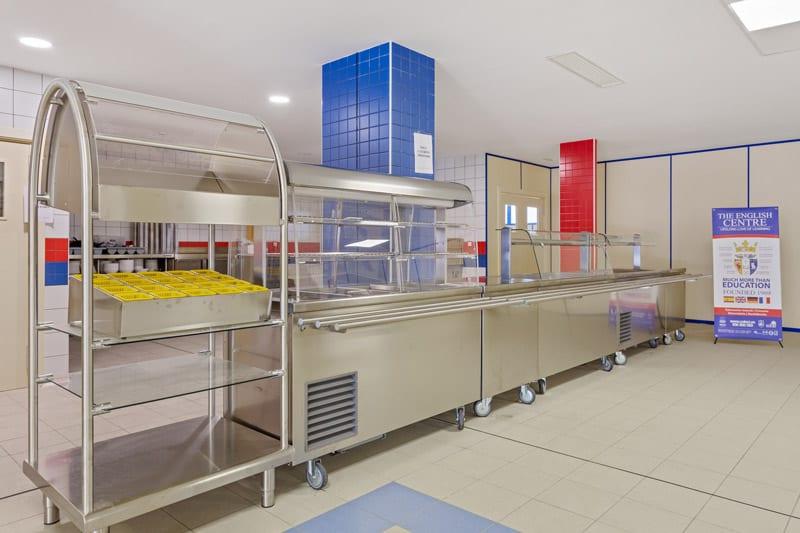 Autoservicio Fit Electrolux Professional - comedor el Centro Inglés