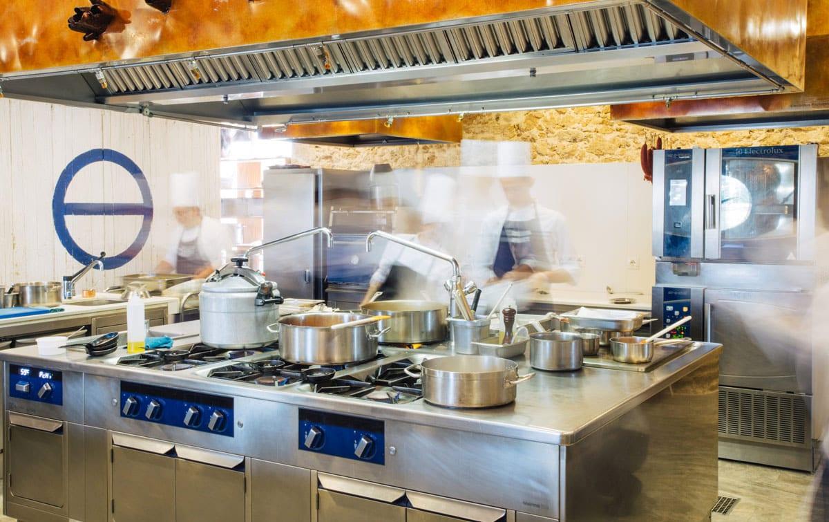 Restaurante Aponiente | Cocina by Electrolux Professional