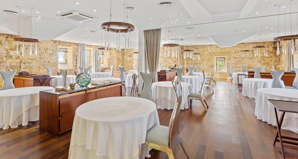 Restaurante Aponiente, salón | referencias Electrolux Professional