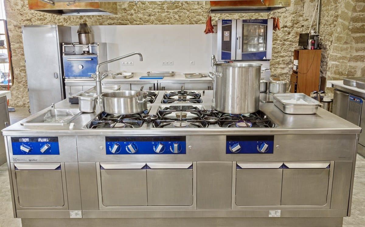 Restaurante Aponiente, cocina by Electrolux Professional