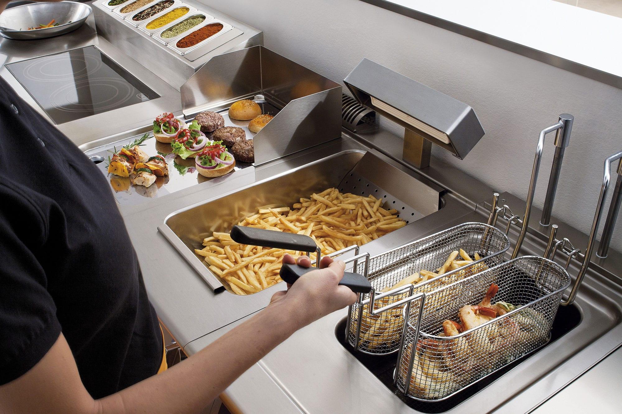 Accessories et consommables cuisson modulaire for Degraissant professionnel cuisine