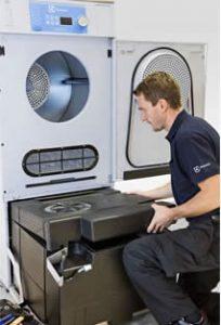 heat pump easy access lint filter