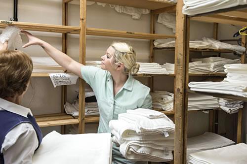 inhouse laundry work
