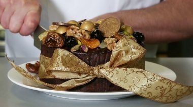 Chocolate Fruit Cake by Mark Tilling