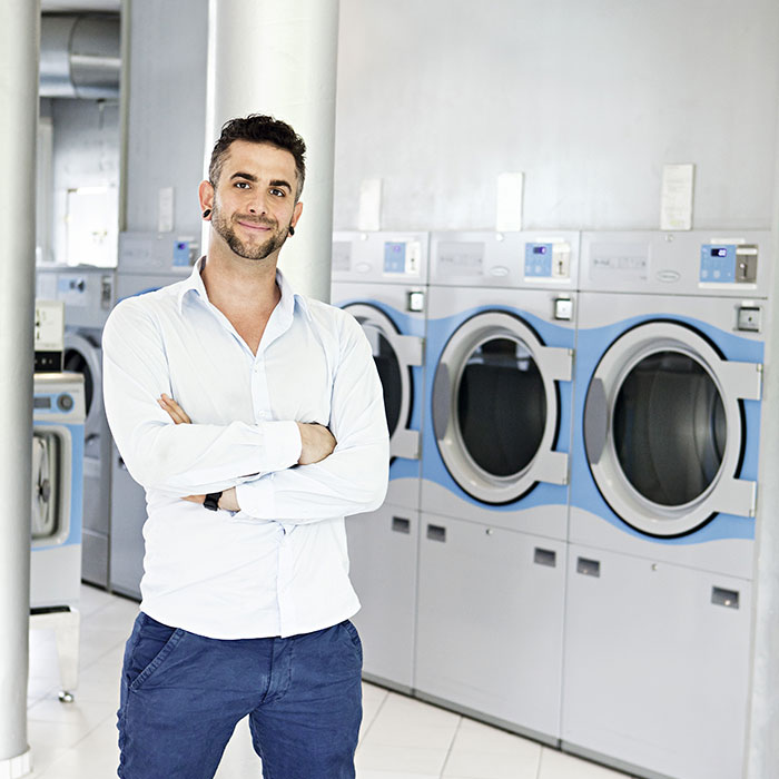 self service laundry business plan