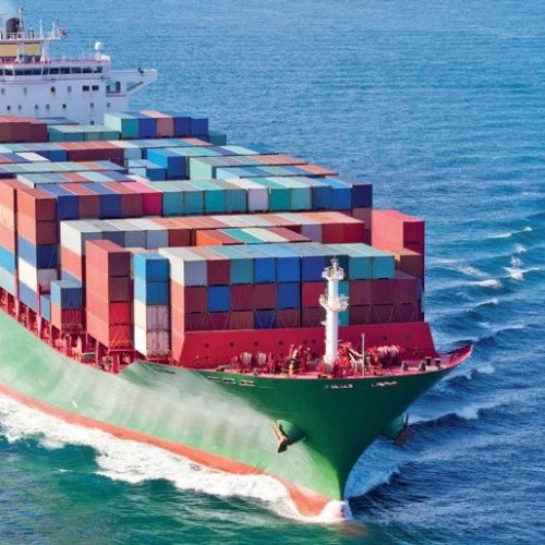 Marine Cargo Ship