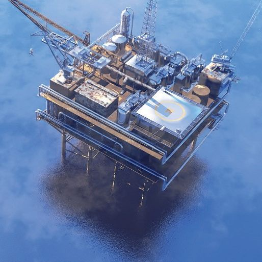 Marine Oil rig