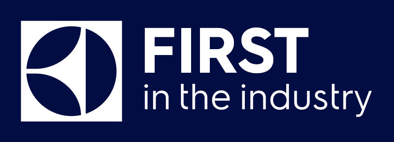 First in the industry logo