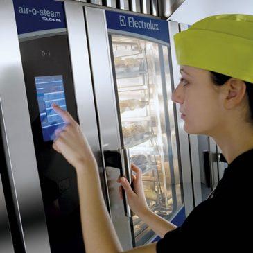 Air-O-Steam echef control panel