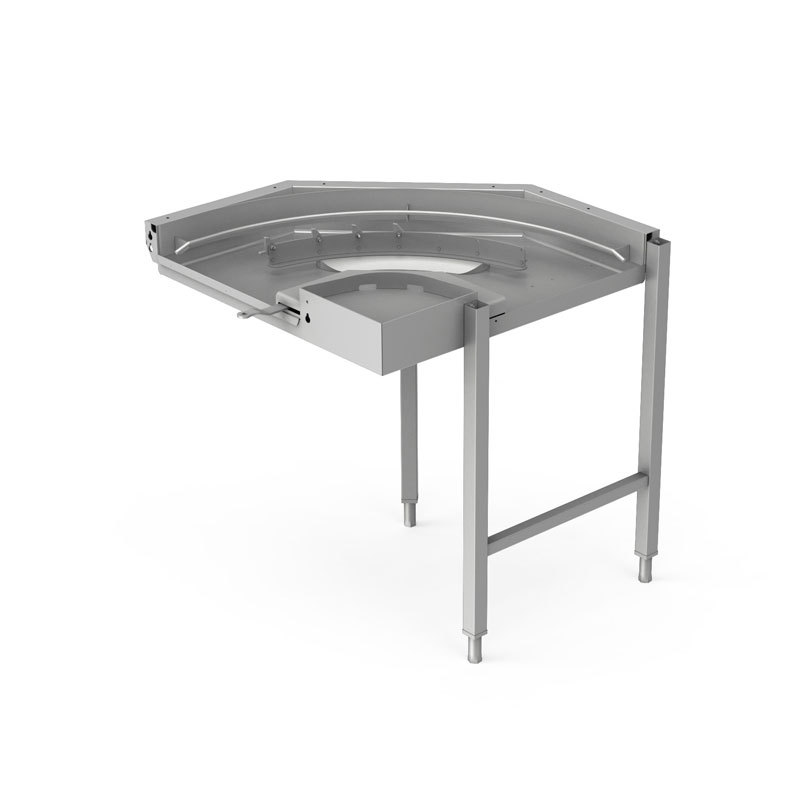 handling system rackt ype dishwasher