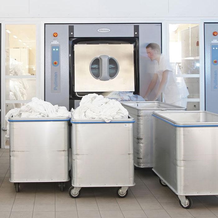 Side load barrier washer