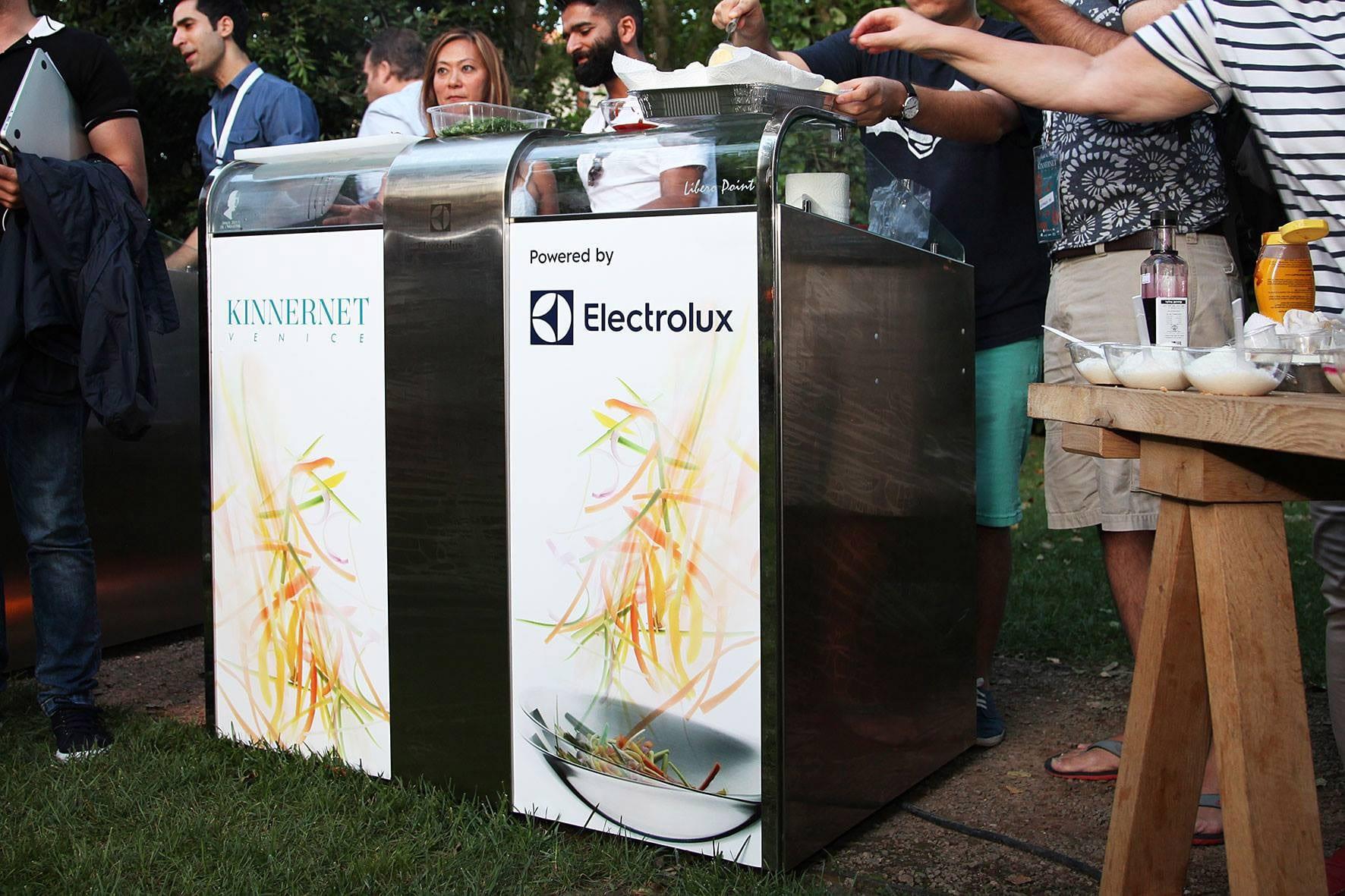 Kinnernet Venice 2017 con Electrolux