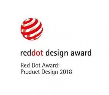 green&clean rack type Red Dot Award