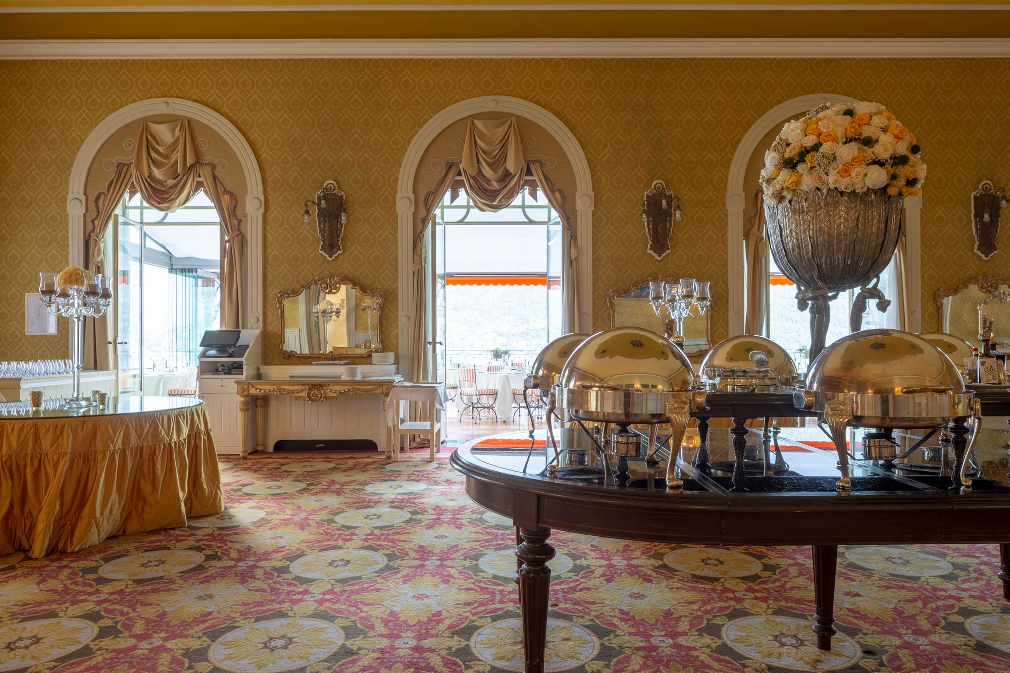 Grand Hotel Tremezzo Electrolux Professional Italia